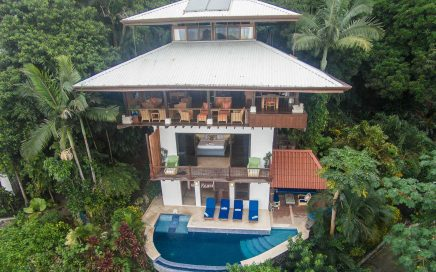 0.11 ACRES – 4 Bedroom Bali Style Home With Iconic Manuel Antonio Ocean And park Views!!!