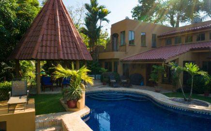 2.25 ACRES – 5 Bedroom Ocean View Estate With Pool Located In Lagunas!!!