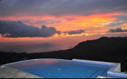 House In The Heavens – 4 Bedroom Ocean View Home With Pool Located In Escaleras!!!