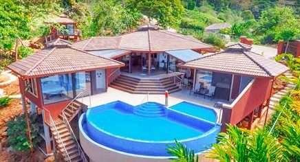 0.59 ACRES – 3 Bedroom Luxury Ocean View Home With Pool In Desirable Neighborhood!!!!