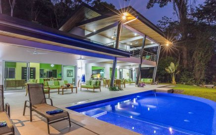 2.22 ACRES – 5 Bedroom Modern Luxury Home With Pool And Whales Tale Ocean Views!!!