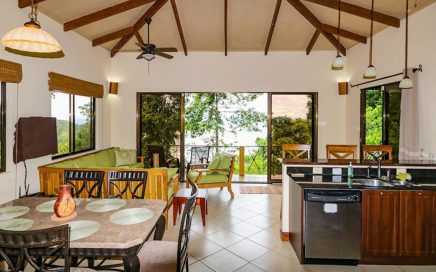 VILLA PLAYA AMIGO – 2 Bedroom Villa with Whitewater View and Resident Sloth!!!