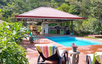 10 ACRES – Boutique Hotel w/ 4 Luxury Cabins Plus 2 Bedroom Owner Home, Pool, Strong Income!!