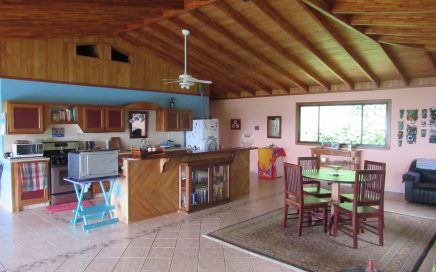 2.4 ACRES – 2 Bedroom Ocean And Mountain View Home On Beautiful Property In Lagunas!!!