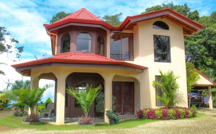 6.33 ACRES – 4 Bedroom Ocean View Home, Fully Furnished, Very Private!!!
