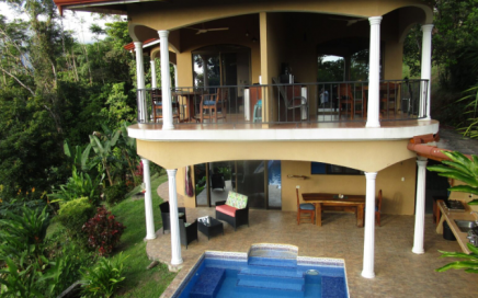 1.8 ACRES –  1 Bedroom Home Plus 2 Rental Suites With Shared Pool, Ocean View, Second Building Site!!