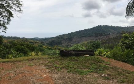 1.5 ACRES – Private Land With Ocean View, Privacy, Infrastructure in Place