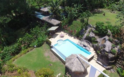 1 ACRE – 3 Bedroom Ocean View Home With Amazing Pool And Large Building Site!!!