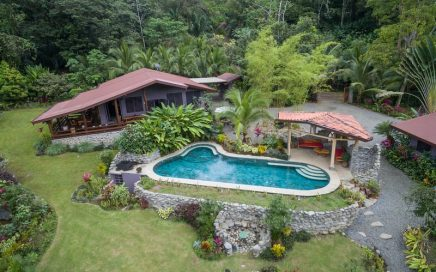 1.7 ACRES – Boutique Hotel With 3 Villas, 2 Apartments, 2 Bedroom Owner's Home On River!!!