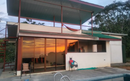 3.77 ACRES – Two Bedroom Charming Sunset Ocean View Home With Pool And Room To Build More!!!