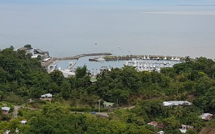 0.2 ACRES – Beautiful Lot With Power And Water And Sunset Ocean And Marina Pez Vela Views!!!