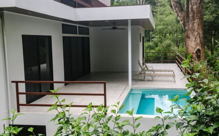 0.2 ACRES – 2 Bedroom Brand New Home With Pool On Baru River Walk/Bike To Dominical!!!!