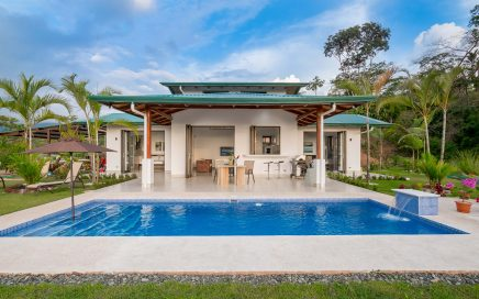 0.80 ACRES – 2 Bedroom Beautiful New Home With Ocean and Vast Mountain Views!!!