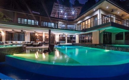 BEACH VIEW VILLA – 5 Bedroom Villa with Incredible Sunset Ocean Views!!!