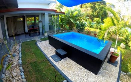 THE BLUE HOUSE – 1 Bedroom House with Pool Walking Distance to the Beach!!!