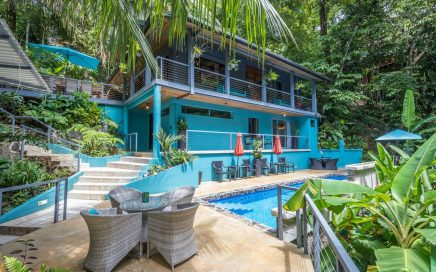 0.42 ACRES – 4 Bedroom Rainforest Home With Pool Walking Distance To The Beach!!!
