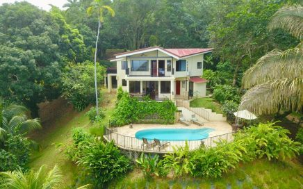 0.75 ACRES – 4 Bedroom Ocean View Home With Pool In Great Location!!!