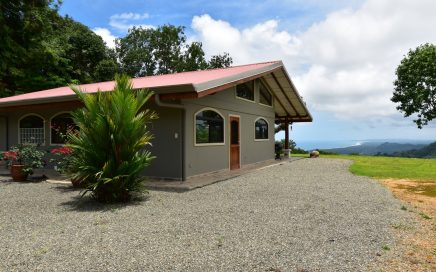 5.25 ACRES – 2 Bedroom Sunset Ocean View Home, Fully Furnished, Very Private, Second Building Site!!!!