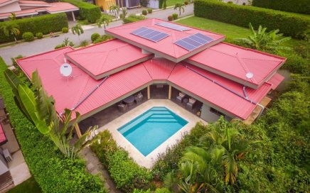 0.12 ACRES – 3 Bedroom Home With Pool And Solar Panels Walking Distance To The Beach!!!
