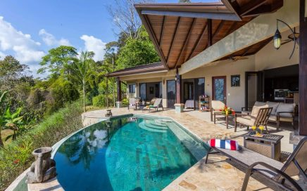 1.43 ACRES – 3 Bedroom Tropical Home With Pool And Sunset Whales Tale Ocean Views!!!!