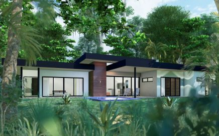 1.25 ACRES – 1 – 3 Bedroom Modern Eco Friendly Homes With Pool In Gated Luxury Community!!!