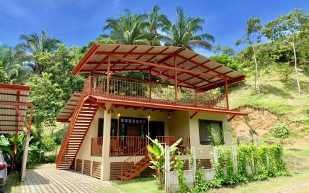 0.07 ACRES – 2 Bedroom Brand New Home 200 ft From Baru River And Walk To Dominical And Beach!!!