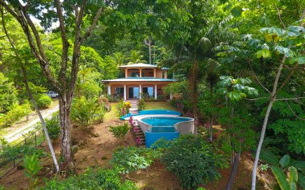 5.6 ACRES – 2 Bedroom Ocean View Home With Pool, Creek, Additional Building Sites!!!