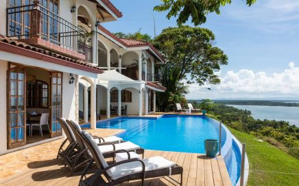 0.78 ACRES – 9 Room Boutique Hotel With Pool And The Most Incredible Sunset Ocean Views!!!!!!