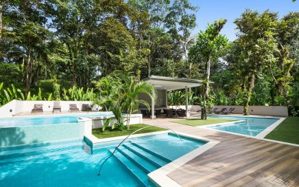 CONDO – 3 Bedroom Fully Furnished Modern Beachfront Condo in Elan!!!!