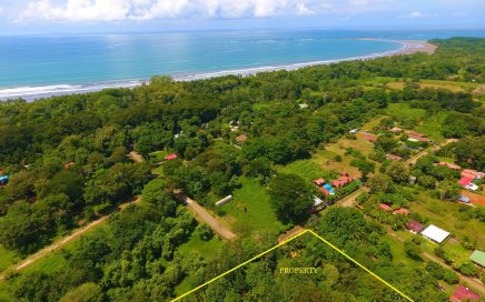 3.7 ACRES – Perfectly Flat Titled Land Steps From The Beach And 2 Min Drive To Town!!!!