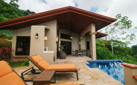 1.5 ACRES – 2 Bedroom Sunset Ocean View Home W/ Pool In Gated Community Plus Second Building Site!!!