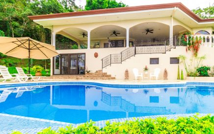 3.5 ACRES – 3 Bedroom Ocean And Mountain View Home With Pool In Gated Community!!!