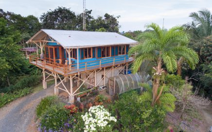 3 ACRES – 2 Bedroom Home, Guest Cabin, Ocean View And Private Waterfall!!!!