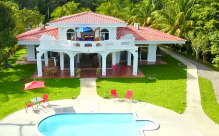 4.8 ACRES – 3 Bedroom Sunset Ocean View Home With Pool!!!!