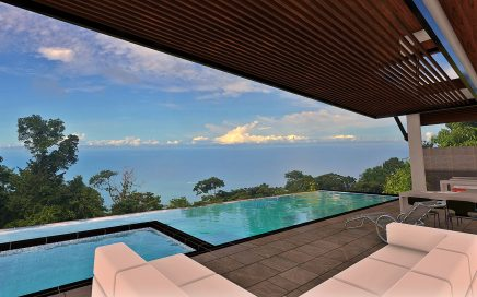 3 ACRES – 4 Bedroom Modern Luxury Home With Whales Tale Ocean Views In Costa Verde!!!!