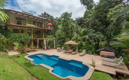 0.74 ACRES – 3 Bedroom Tropical Home With Pool, Short Walk To Beach!!!