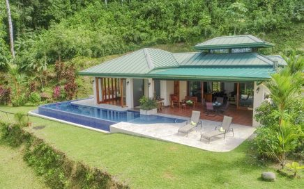 2.47 ACRES – 2 Bedroom Ocean View Home With Pool Surrounded By Jungle!!!