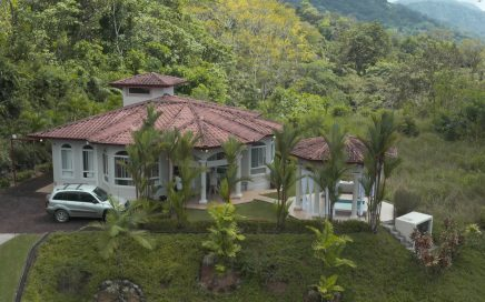 0.28 ACRES – 2 Bedroom Furnished Ocean View Home With Dipping Pool In Gated Community!!!!