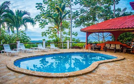 2.85 ACRES – 6 Bedroom Ocean View Estate Property With Pool And Creek!!!