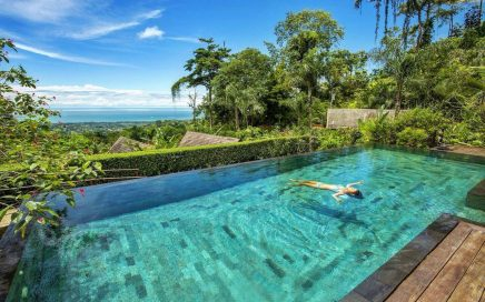 3.46 ACRES – 12 Room Boutique Hotel With Ocean View Surrounded By Jungle!!!!