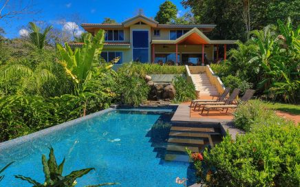 0.6 ACRES – 6 Bedroom Luxury Ocean View Home With Stunning Pool!!!!