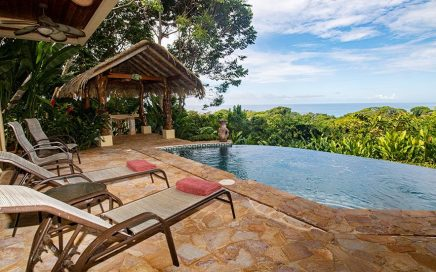 1.2 ACRES – 3 Bedroom Luxury Tropical Home With Pool, Jungle, Amazing Sunset White Water Views!!!!