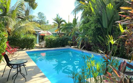 0.9 ACRES – 4 Cabinas With Pool And Common Areas With Room To Expand!!!