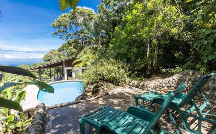 2.5 ACRES – 1 Bedroom Charming Ocean View Home With Pool Surrounded By Jungle!!!!