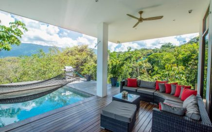 3.2 ACRES – 2 Bedroom New Modern Tropical Ocean View Home With Pool!!!!