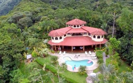 VILLA LOS AIRES – 8 Bedroom Mountain Estate with Waterfalls and Full Staff!!!