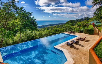 14.5 ACRES – 3 Bedroom Home Plus 1 Bedroom Guest Home, Huge Infinity Pool, Epic Sunset Ocean Views, Room To Build More!!!!