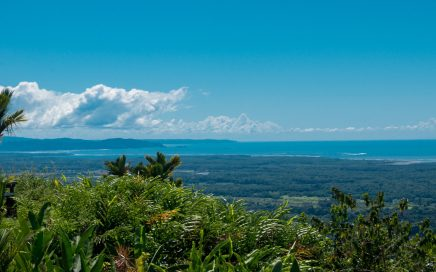 0.95 ACRES – 360 Degree Ocean And Mountian View Lot, All Flat And Buildable, Legal Water!!!!!