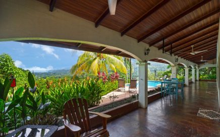 0.56 ACRES – 4 Bedroom Sunset Ocean View Home With Pool, Caretaker House, Easy Access!!!!
