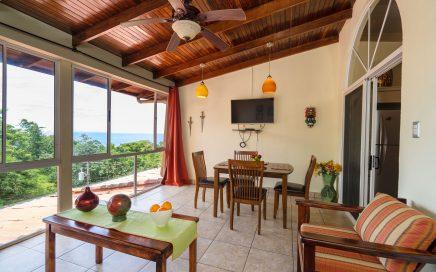 CONDO – 1 Bedroom Condo In Center Of Manuel Antonio With Ocean View And Rental History!!!!